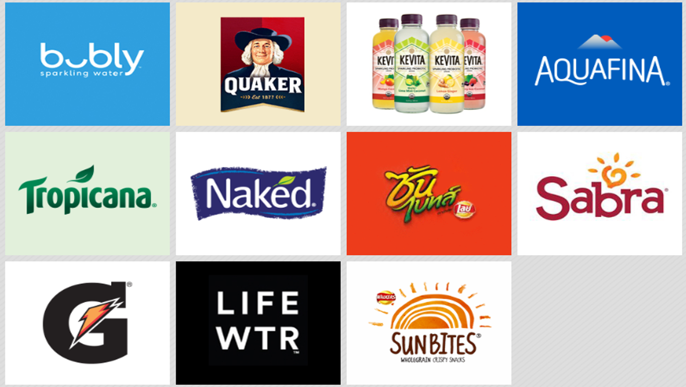 PepsiCo And Its 22 Brands | Marketing Birds