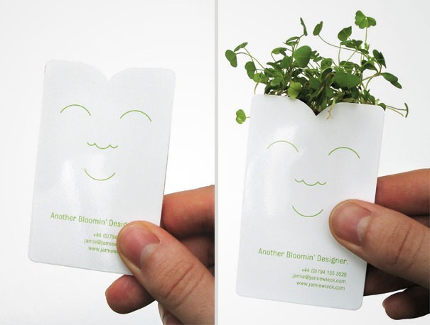 6 unconventional business cards you will never throw them away plantable business cards are eco friendly and waste free made with seed paper these business cards leave a lasting impression reheart Images