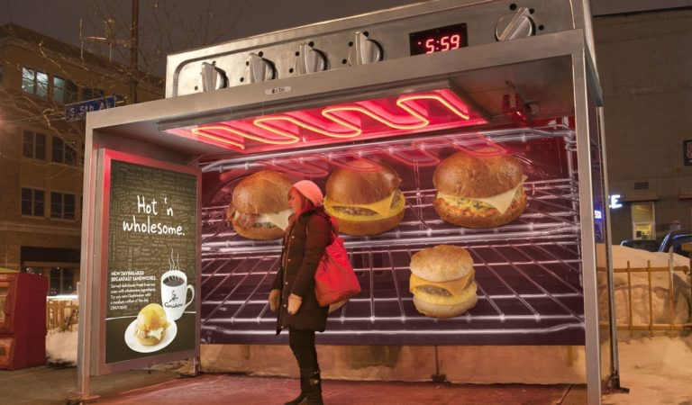 """10 Guerrilla Marketing Examples From Fast-Food Brands That Will Make You Say """"WoW""""!  :)"""