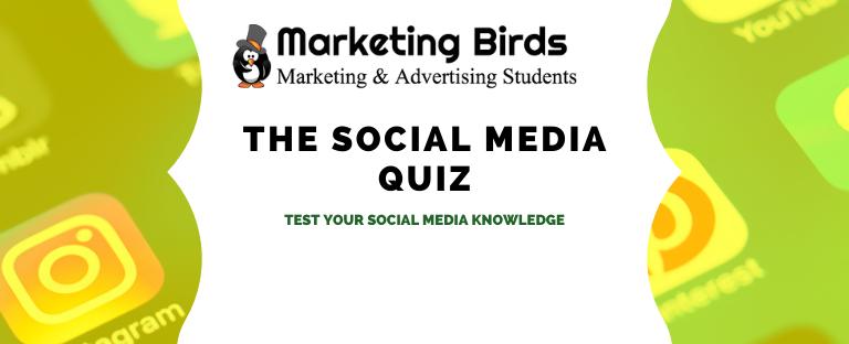 The Social Media Quiz