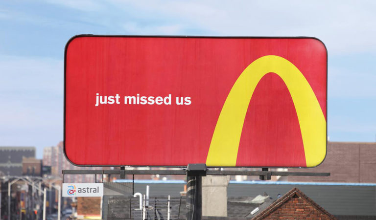 McDonald's Billboard Wins Outdoor Grand Prix Award at Cannes