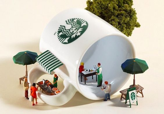 The Most Creative Miniature Works of Popular Brands