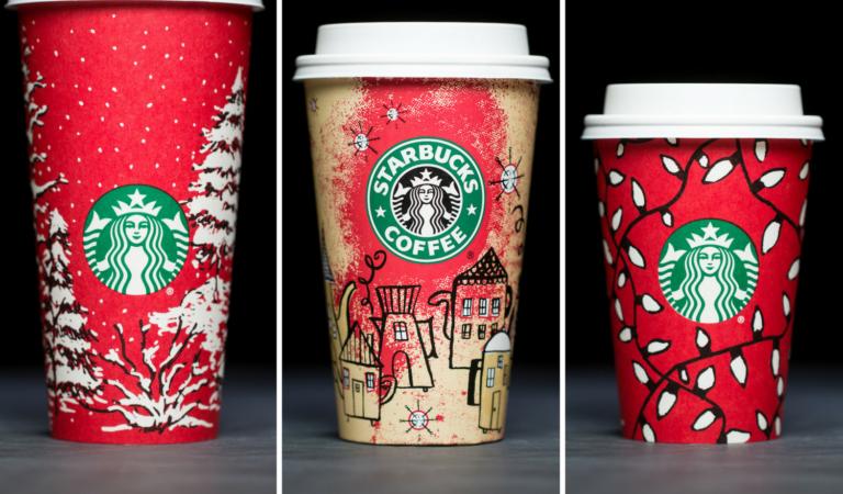 Best Starbucks Christmas Series Cup Designs Ever