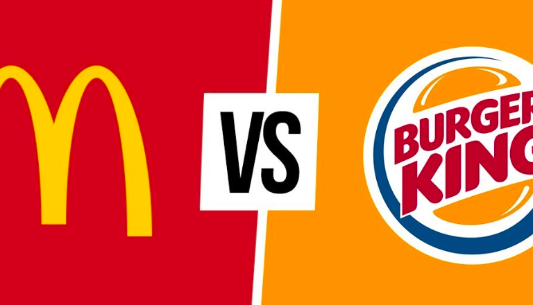 Burger King vs McDonald's: Challenge Between Grill Neighbors In Brazil