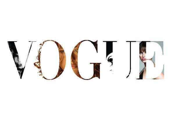 A First in Vogue's History! Vogue Blank Cover Page