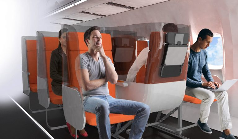 This Company Redesigned Aircraft Seats For Social Distancing