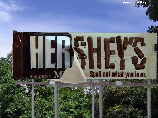 şokolad gerilla marketinq