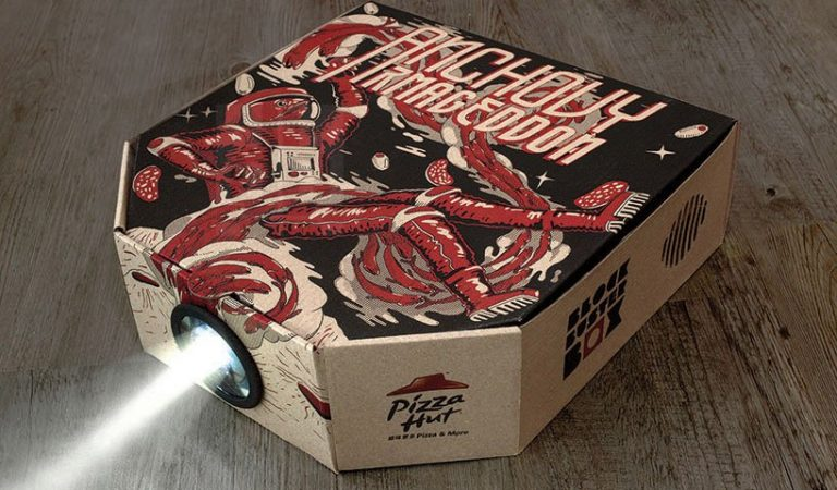 18 Cool & Smart Pizza Box Designs That Will Surprise You