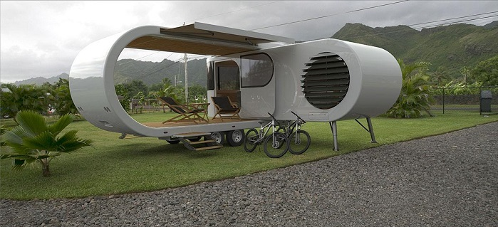 7 Modern And Creative Caravan Design