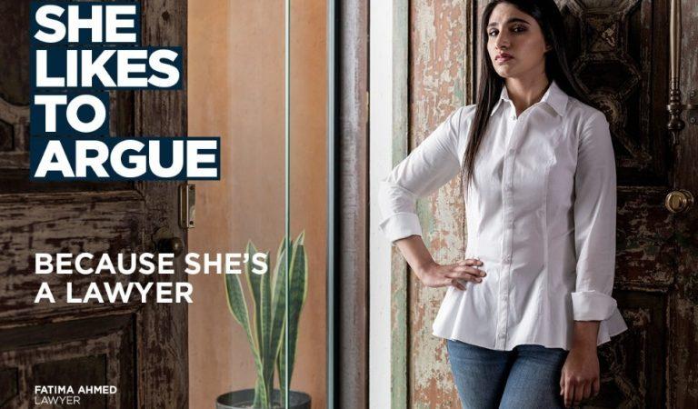 Striking Women's Day Ads