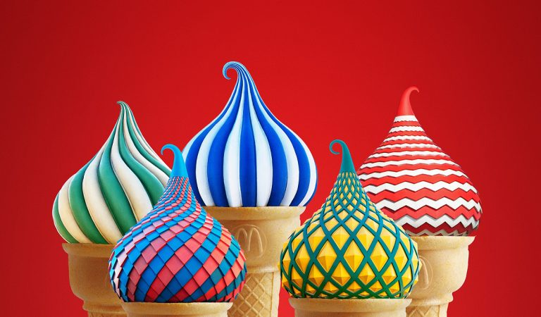 This Cone Race Is Fantastic: Ice Cream Adverts That Will Keep You Cool